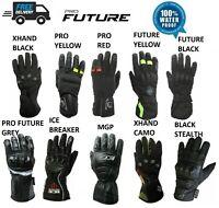 Thermal Waterproof Motorbike Motorcycle Gloves Knuckle Protection Warm Winter