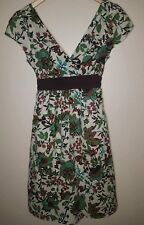Sam and Max Women Sz Medium Tie Around Floral Multi Color Dress