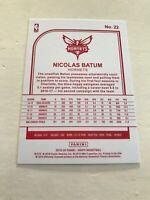 2019/20 Panini - Hoops Basketball: Nicolas Batum - Red Back - Hornets