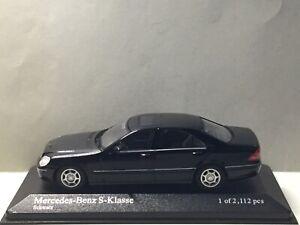 Minichamps 1:43 Mercedes-Benz S-Class 1998 Black Modell Nr: 400 036200