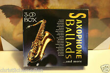 Various: Saxophone Ballads .. and more 3-CD-Box 4002587776152