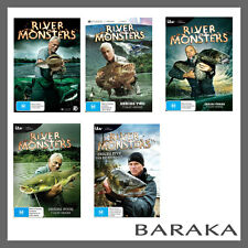 River Monsters: Season 1, 2, 3, 4 & 5 DVD Set Region 4 Jeremy Wade