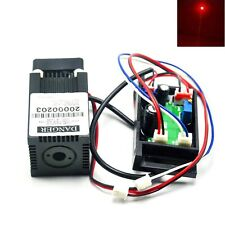 635nm 638nm Red 100mW Focus Dot Laser Diode Module Fan Cooling 12V Driver