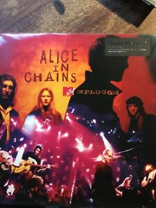 ALICE IN CHAINS-MTV UNPLUGGED-AUDIOPHILE 2XLPs ROCK GRUNGE HARD LP