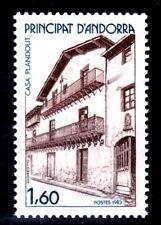 ANDORRA FRANCESA 1983 326 ARQUITECTURA. CASA PLANDOLIT