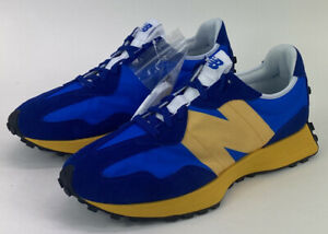 New Balance 327 Aspen Blue Yellow Mens 10.5 D MS327CLB Limited Sneakers