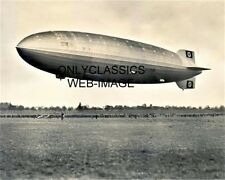1936 GERMANY ZEPPELIN DIRIGIBLE RIGID AIRSHIP PHOTO VINTAGE AVIATION PRE WWII