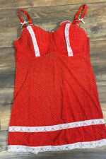 Red Corset Size Large Style MAR371061
