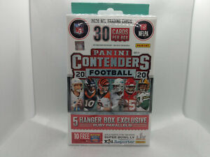2020 Panini Contenders NFL American Football Cards Hanger Box - IN HAND UK!