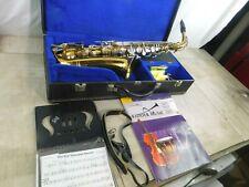 Bundy Selmer Alto Saxophone w/Extras in Beautiful Hard Case