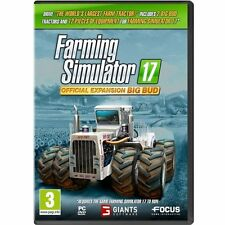 Farming Simulator 17 Official Expansion Big Bud (PC DVD) BRAND NEW SEALED