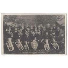 More details for llansaint temperance silver band 1908, carmarthenshire, rp postcard unused