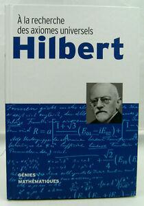 Génies des Mathématiques - Hilbert - RBA - 2018 - TTBE
