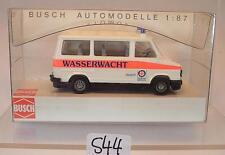 Busch 1/87 Nr. 43297 Fiat Ducato Bus BRK Rotes Keuz Wasserwacht Hersb. OVP #544