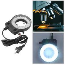 Plastic 144LEDs 60000LM 4.5W Adjustable Microscope LED Ring Light Illuminator