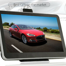 "7"" GPS Navigation HD Car Truck Navigator LCD Touch Screen +Vehicle  SAT US Map"