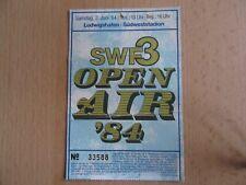 DEPECHE MODE 02.06.1984 TICKET LUDWIGSHAFEN OPEN AIR FESTIVAL ELTON JOHN HOWARD