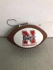 Ncaa Nebraska Cornhuskers Mini Replica Football Ornament