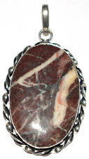 44 Cts 100% Natural Jasper Sterling Silver Pendant Jewelry L 45