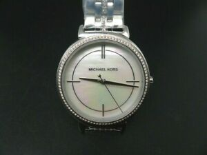 NEW OLD STOCK MICHAEL KORS CINTHIA MK3641 STAINLESS STEEL QUARTZ WOMEN WATCH