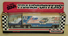 Ken Bouchard #72 ADAP Racing 1992 1/87 Matchbox Super Star Team Transporter