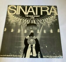 "Frank Sinatra ""The Main Event (Live)"" Jazz Lp 1974 REPRISE RECORDS"