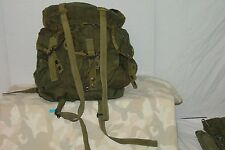 one used military fair conditon   alice pack.  used camouflage shoulder straps