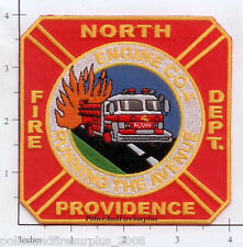Rhode Island - North Providence Engine 4 RI Fire Dept Patch
