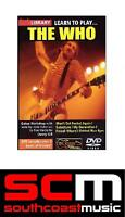 LEARN TO PLAY THE WHO ELECTRIC GUITAR LICK LIBRARY DVD