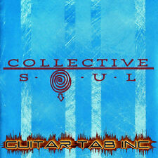 Collective Soul Digital Guitar Tab SELF TITLED Lessons on Disc Ross Childress