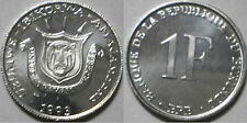 Burundi 1993 1 Franc Uncirculated (KM19)