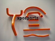 New Genuine KTM LC4 620 625 640 660 SILICONE radiator hose kit, Orange