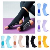 Yoga Socks Women Non Slip Skid Grips Pilates Fitness Ballet Exercise Massage