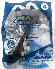 McDonald's Max Steel #4 TURBOFIED CYCLE Happy Meal Toy NIP 2014 Motorcycle