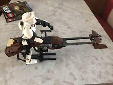 Star Wars Lego 75532   Scout Trooper & Speeder Bike  Used!! NO BOX
