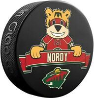 Minnesota Wild NHL Mascot Nordy Souvenir Hockey Puck