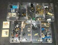 afx HO track car pieces + case