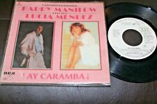 """BARRY MANILOW & LUCIA MENDEZ Ay Caramba 1985 MEXICO 7"""" PROMO SUNG IN SPANISH"""