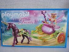 PLAYMOBIL Fairies 9136 blumenfee con unicorno CARROZZA-NUOVO & OVP