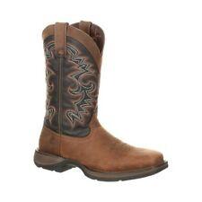 "Durango Boot Men's   DDB0135 Rebel 12"" Pull-On Western Boot Chocolate/Midnight"