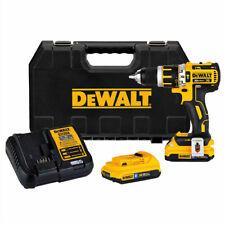 DEWALT 20V MAX XR 1/2 in. Hammer Drill Kit DCD795D2BTR Certified Refurbished