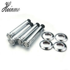 4pcs Car Chrome Interior Door Lock Knob Pins For MINI Cooper Clubman Countryman