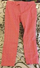 Gap Women's Print Slim Cropped Pants, Size 6, New with tags