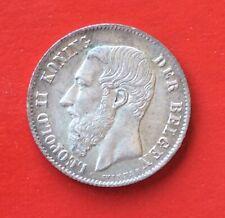 Belgique - Léopold II - Magnifique   Monnaie de 50 Centimes 1886 VL