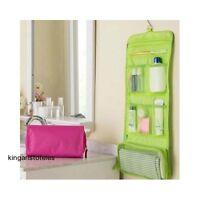 Travel Hanging Bag Waterproof Cosmetic Makeup Toiletry Case Organizer Storage