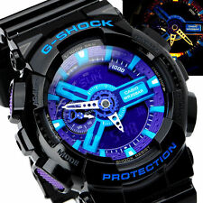 Casio G-shock Analog Digital Black Resin Mens Watch Ga110hc-1a