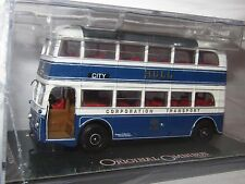 OOC AEC Q DOUBLE DECK BUS HULL CORPORATION ROUTE 12 CITY 1/76 OM45706