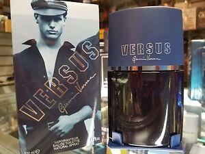 VERSUS by Gianni Versace for Men 3.3 oz / 100 ml Eau de Toilette EDT Spray RARE