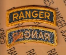 US Army RANGER Qualification tab Dress Uniform patch m/e