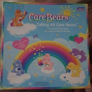 Care Bears Board Game Calling All Care Bears 2003 Cadaco